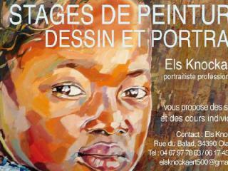image de STAGE DE PEINTURE PORTRAIT-  ELS KNOCKAERT
