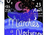 MARCHE NOCTURNE DE PRODUCTEURS ET ARTISANS LOCAUX