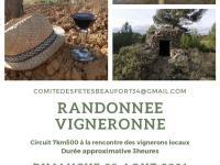 RANDONNÉE VIGNERONNE