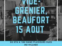 VIDE GRENIER DE BEAUFORT