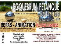 FÊTE DE ROQUEBRUN PETANQUE - 19-07