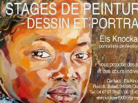 STAGE DE PEINTURE PORTRAIT-  ELS KNOCKAERT