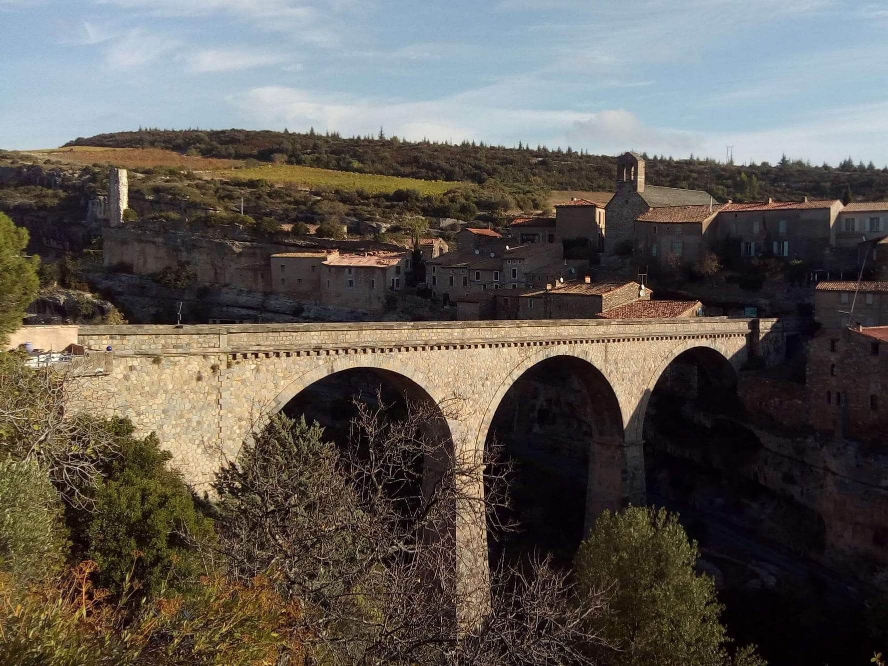 Minerve, between the Cevennes and Black Mountain